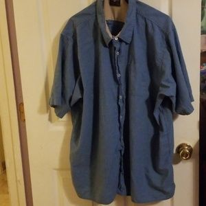 Wrangler button down shirt 3XL